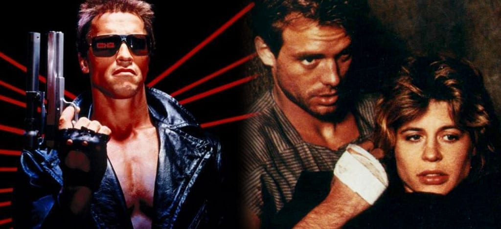The Terminator Love theme scene