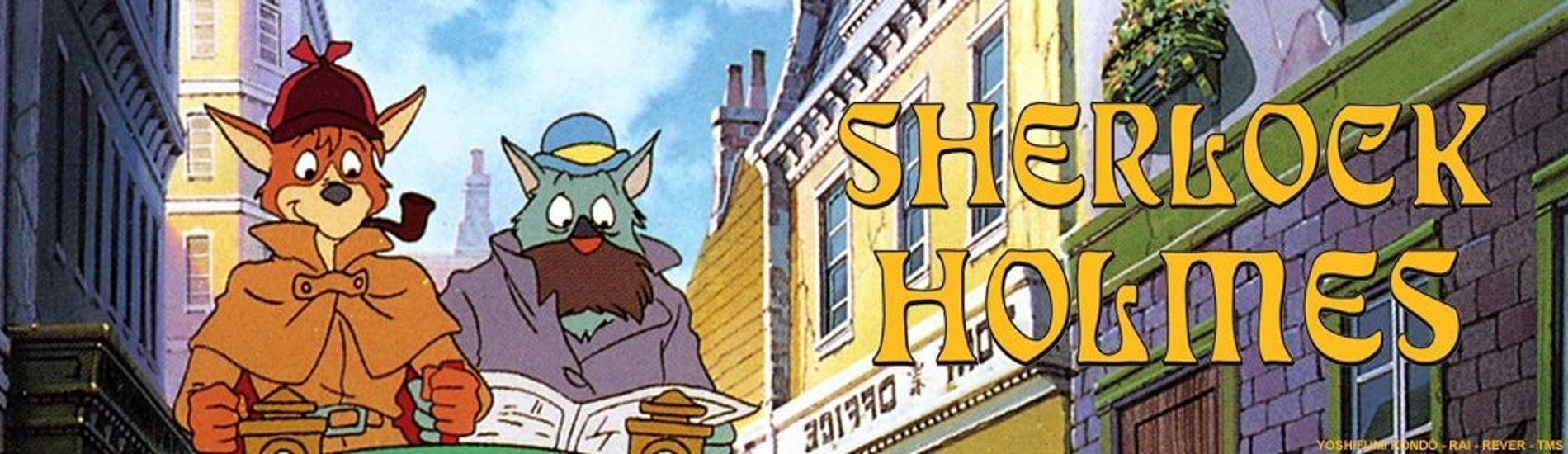 Sherlock Holmes dessin animé